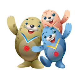 "<p>The mascot design has been inspired by the fact that the harbour seals inhabit the waters of Incheon's Baengnyeong Island, which is in the northernmost location of the Republic of Korea, while travelling freely between the two Koreas.<br />&nbsp;<br />""The mascots represent the idea of the harbour seals playing a role in promoting peace in Asia by contributing to easing the tension on the Korean peninsula and overcoming ideological and religious barriers in some troubled parts of the world,"" said Dr Lee Yun-taek, President of the IAGOC.<br />&nbsp;<br />The characters have been named Vichuon, Barame and Chumuro after the Games Main Stadium design motifs of light, wind and dance.</p>"