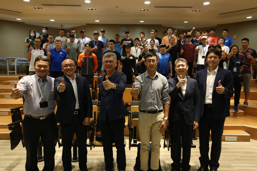 "Chinese Taipei Olympic Committee holds ""Sports Agent Forum"" in National Sports Training Center for the athletes first time ever."