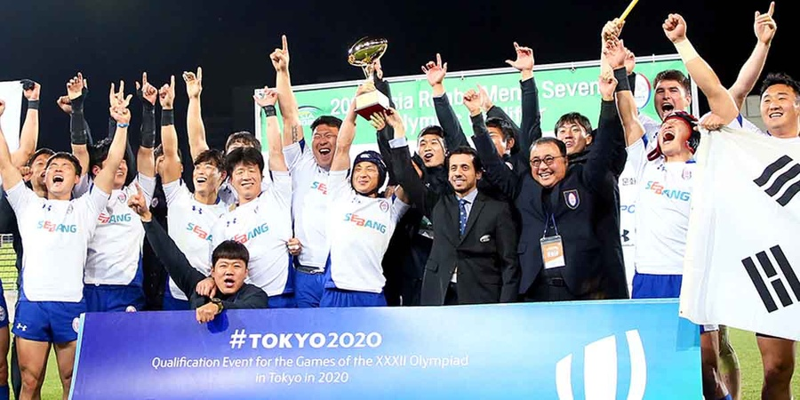 Korea wins Asian rugby sevens qualifier to book Tokyo ticket