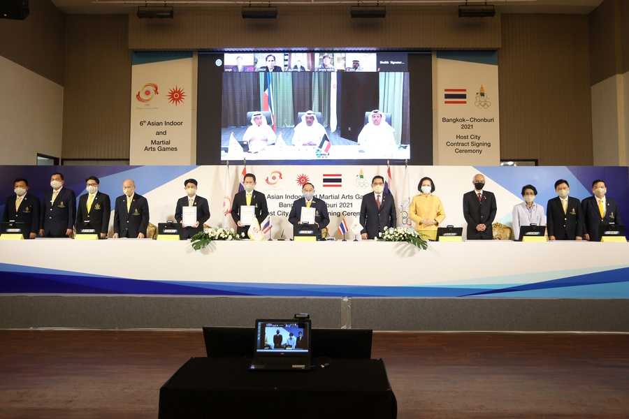 OCA » OCA signs host city contract for 6th AIMAG 2021