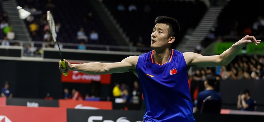 Rio 2016 Olympic Games champion Chen Long of China. © BWF
