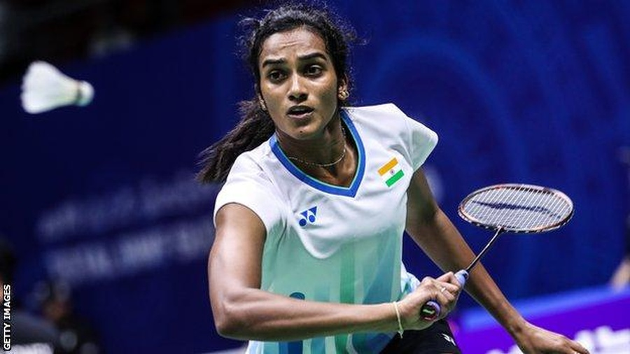 PV Sindhu in action. © Getty Images