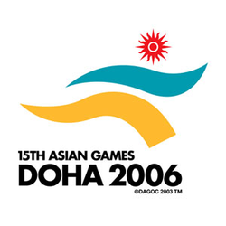 <p>The development of the logo is part of the brand, image and look program. It has been tweaked and modified, using colours specifically particular to Qatar. The colour blue in the new image is named Doha blue, representing the waters of the Arabian Gulf. The yellow replicates that of the sand dunes in the Qatari desert and is called Doha Yellow. The red sun represents the ever-shining sun of Asia.</p>