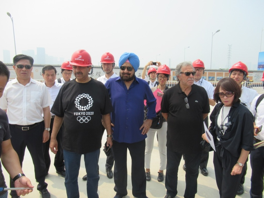 OCA delegates see venues for 19th Asian Games Hangzhou 2022