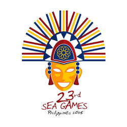 <p>The 2005 SEAG Logo shows a festival mask similar to those found in most Southeast Asian countries. It represents the many different cultures that came together for the Games. At the same time the mask captures the exuberant spirit and hospitality of the Filipinos. The logo was inspired by the MassKara Festival held annually in Bacolod City, one of the satellite venues of the event.<br /><br />The logo was designed by Filipino freelance graphic designer Joel Manalastas.</p>