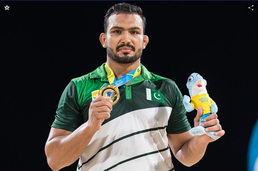 Wrestler Inam is pride of Pakistan