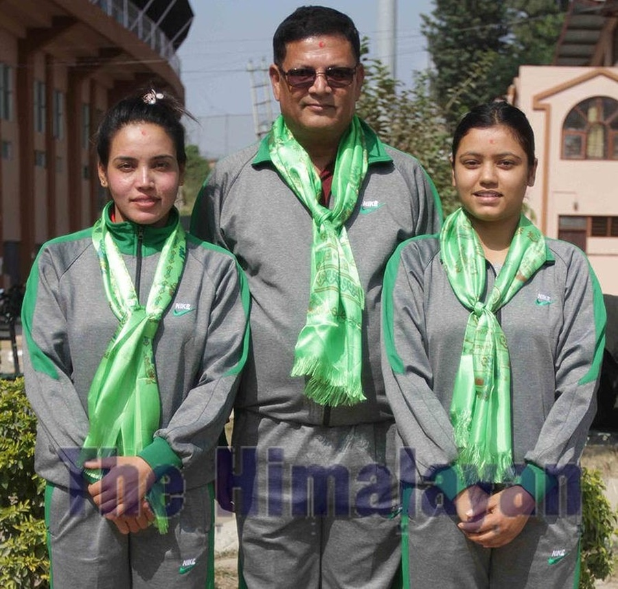 Nepalese shooting duo set sights on multiple targets