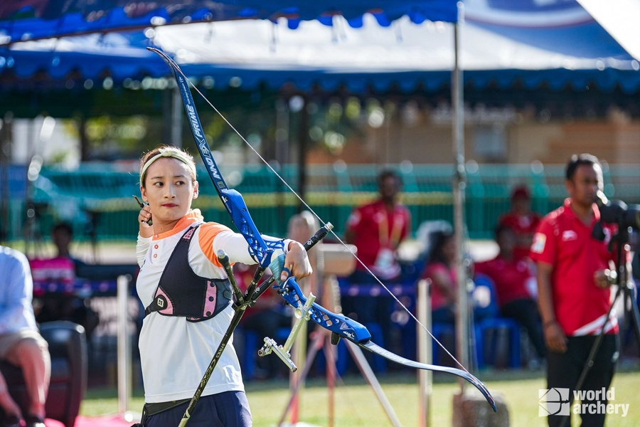 Coach Sally builds archery in Bhutan