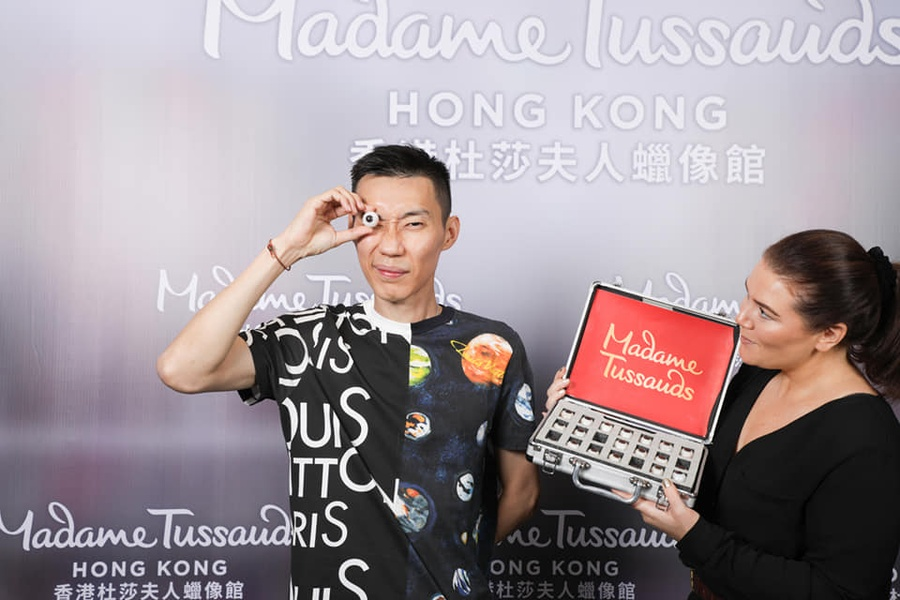 Madame Tussauds honours badminton great Lee Chong Wei