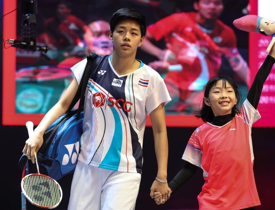 Sapsiree Taerattanachai (THA) was among the first batch of athletes in the programme. © BWF