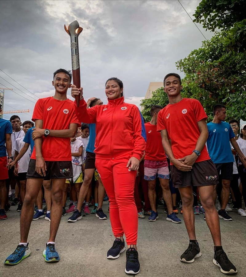 Torch relay begins for 30th SEA Games Philippines 2019