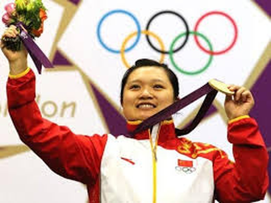 Guo Wenjun, 36, was Olympic champion in women's 10-metre air pistol at Beijing 2008 and London 2012. She hails from Xi'an, Shaanxi province. © www.womenofchina.cn