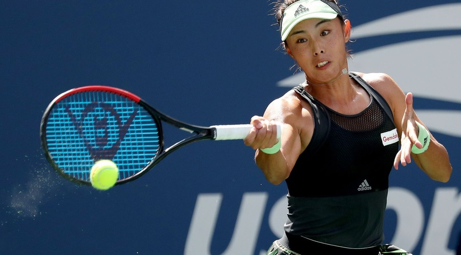Wang Qiang. © Women's Tennis Association