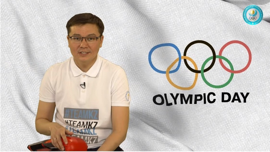 Kazakhstan unites to celebrate Online Olympic Day 2020