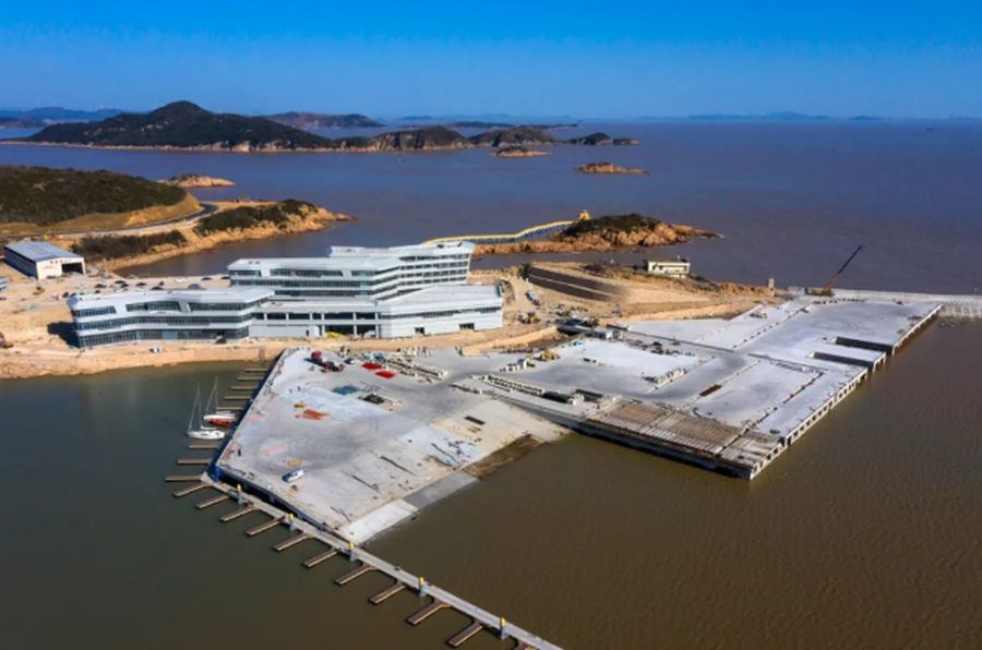 Zhejiang Ocean Sports Centre will host 14 sailing events at the 19th Asian Games. © HAGOC