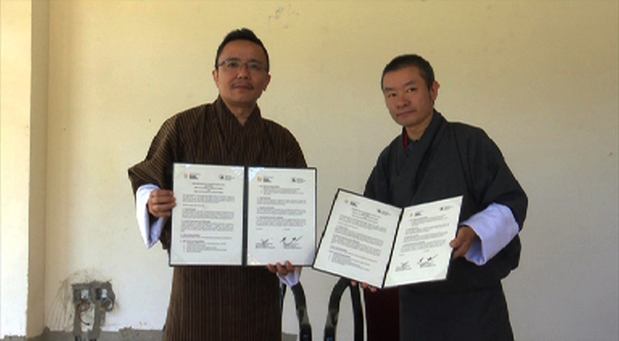 Bhutan NOC signs MoU with ecological society to beautify sports venues