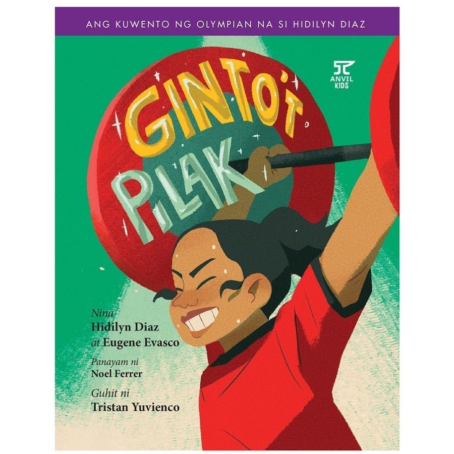 Children's book launched about life of weightlifting legend Diaz