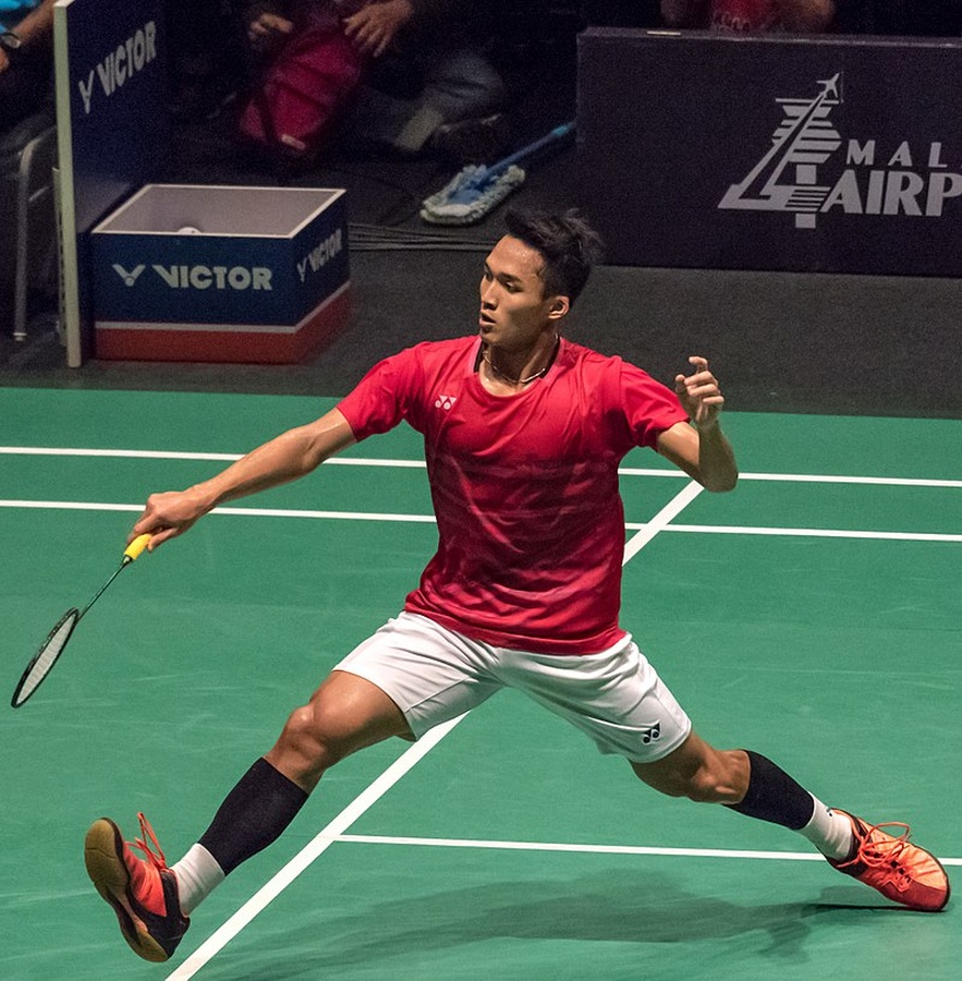 Asian Games 2018 champion Jonatan Christie of Indonesia helped his country win the Badminton Asia Team Championship in Manila last month. © WIL – SEA Games Badminton Final