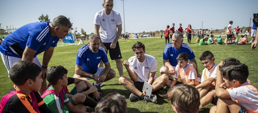 Lebanon hosts second pilot project for FIFA's worldwide Football for Schools programme