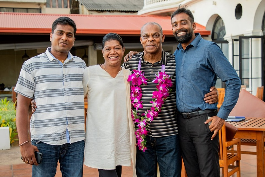 Sri Lanka NOC welcomes track coach Campbell