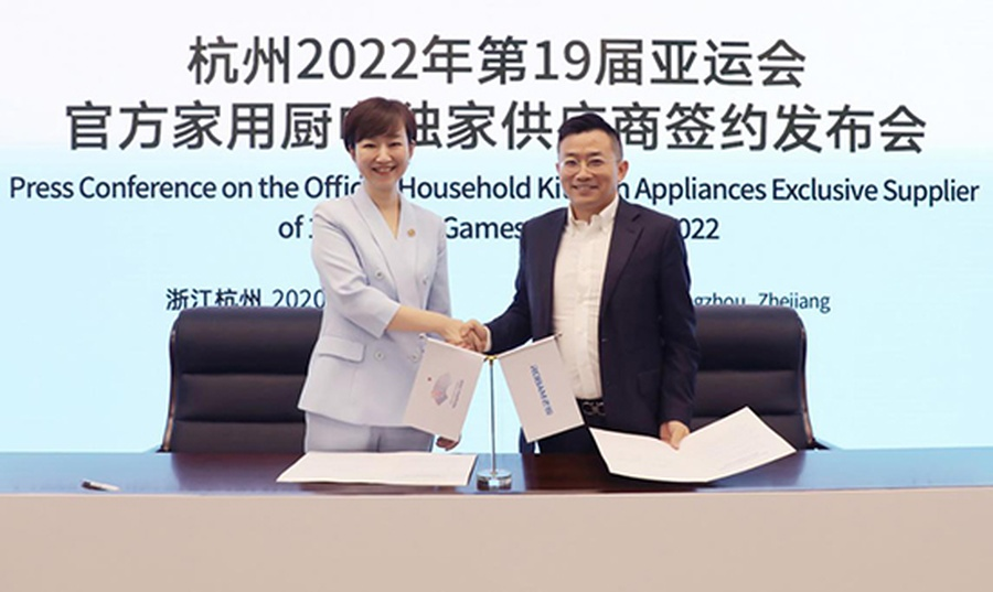 Kitchen appliances company becomes first exclusive supplier for 19th Asian Games