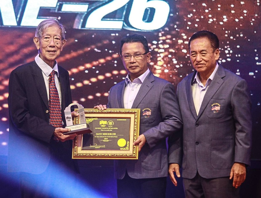 Dato' Kok Chi 'embarrassed' by Malaysia NOC Hall of Fame induction
