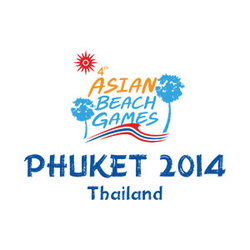 <p>The emblem of the 4th Asian Beach Games was driven by Phuket&rsquo;s very own beauty and by one of Phuket&rsquo;s most mesmerizing sceneries of Laem Promthep with such beauty that Phuket possesses, Phuket is also widely recognized as the Peal of the Andaman and the Southern Paradise&rdquo; where athletes, spectators and tourists could enjoy watching the ongoing game while at the same time allowing themselves to serenely sink into the spell-binding beauty of Phuket beaches and sceneries.<br /><br />The two palm trees standing side by side represents the coming together of athletes and of all participants from different nations and races, to unite and to participate together in the 4th Asian Beach Games. As for the middle, the Asian Beach Games is the center of this beautiful bonding between the races in which the athletes represents.<br /><br />The ocean waves tinted in the color of the Thai flag symbolizes the qualities in which Thailand possesses; the Thai flag swirling could be understood as a representation of the determination of the athletes in participating in the competition.</p>