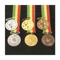 <p>Date of issue: April 1994 Details: Gold (60 m/m, 50 m/m, 35 m/m) Silver (60 m/m); Bronze (60 m/m) Two types of commemorative medals were issued by an official supplier, the Japan Amateur Sports Cooperation Association: one depicts a female profil</p>