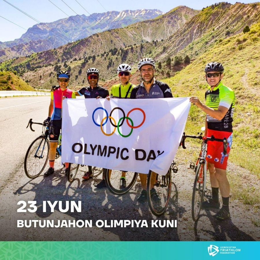 Uzbekistan NOC promotes sport for health on Olympic Day