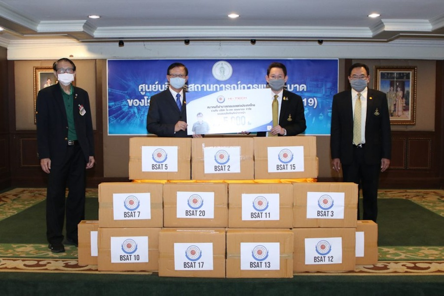 Basketball Thailand producing 4 million masks to fight pandemic