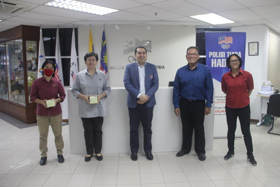 OCM welcomes new presidents of baseball, xiangqi to HQ