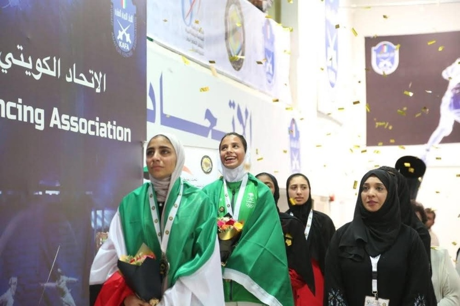 Saudi fencers win to sabre gold medal at GCC Women's Games