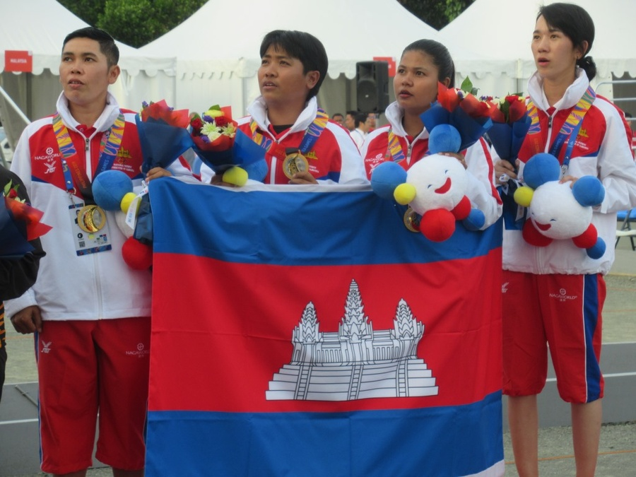 Cambodia's petanque champions draw attention to SEA Games hosting in 2023