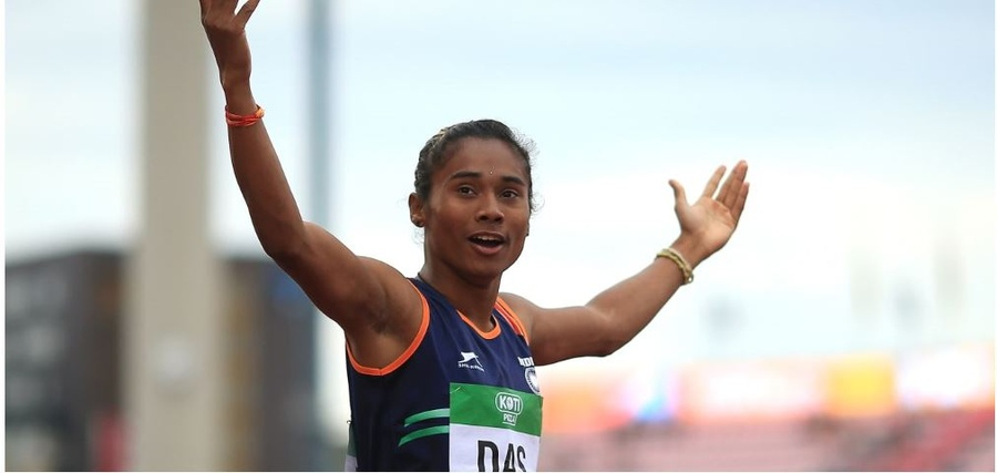 Hima Das is one of India's most popular athletes. © Ben Hoskins/Getty Images for IAAF